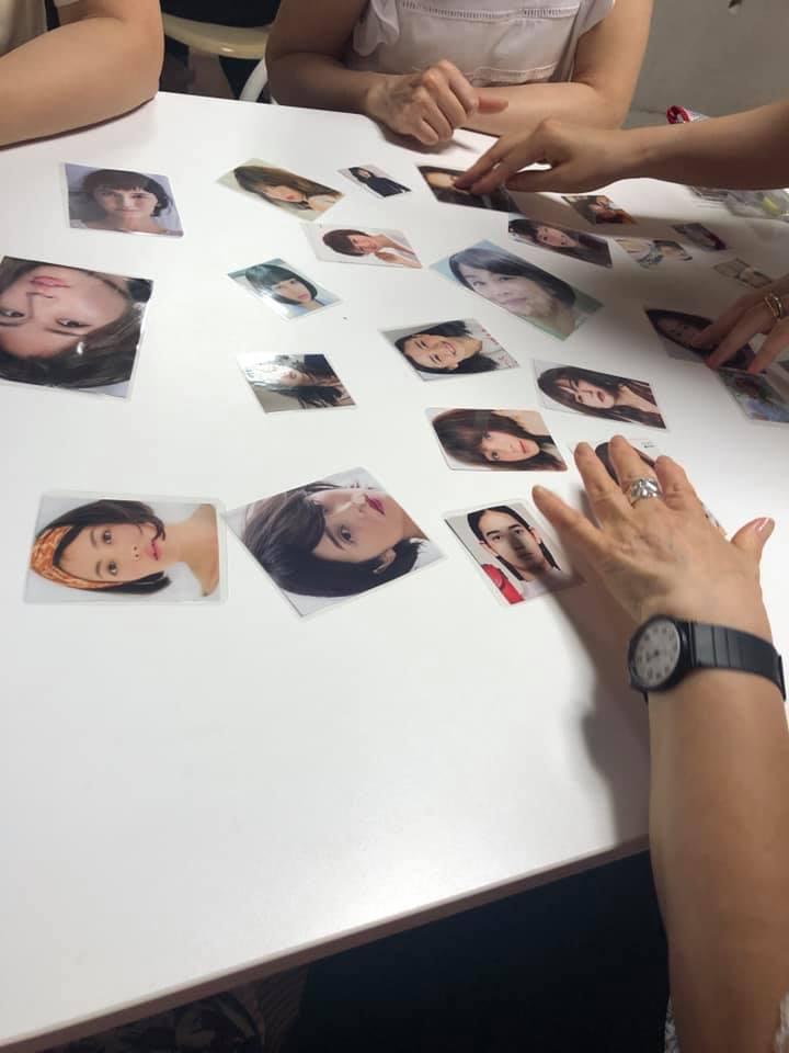 【パーソナルカラー中級クラス】の真剣な表情〜♪
