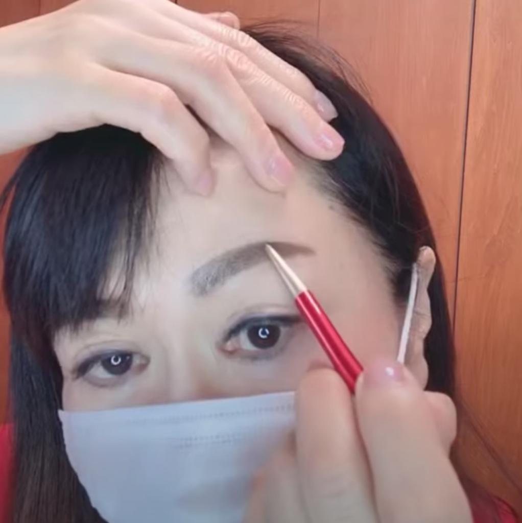 マスク時におけるメイクアップ その3
